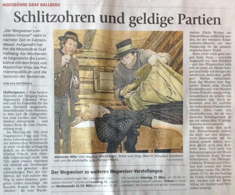 Freisinger Tagblatt 15.03.13
