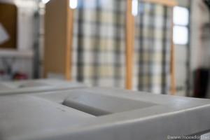 Wahl in Moosdorf - die Wahlurne