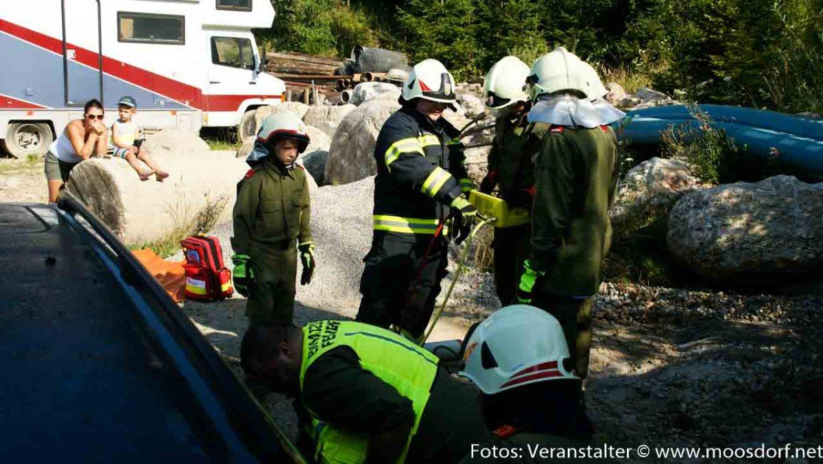 Feuerwehr Moosdorf: 24 Stunden Action im August!