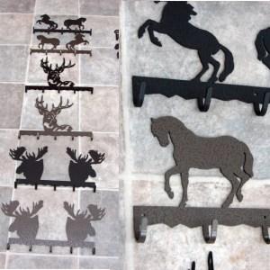 Dl Iron Small Hook Rack Moose Head Bronze Moose R Us Com Log Cabin Decor
