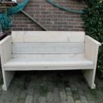 Steigerhouten meubels verven