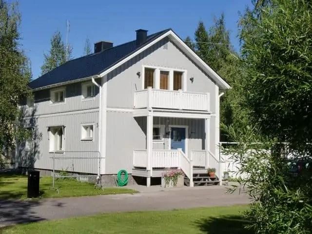 Magnifiek Houten huis verven? Moose Färg Zweedse houtverf: zeer kosteneffectief #WJ11