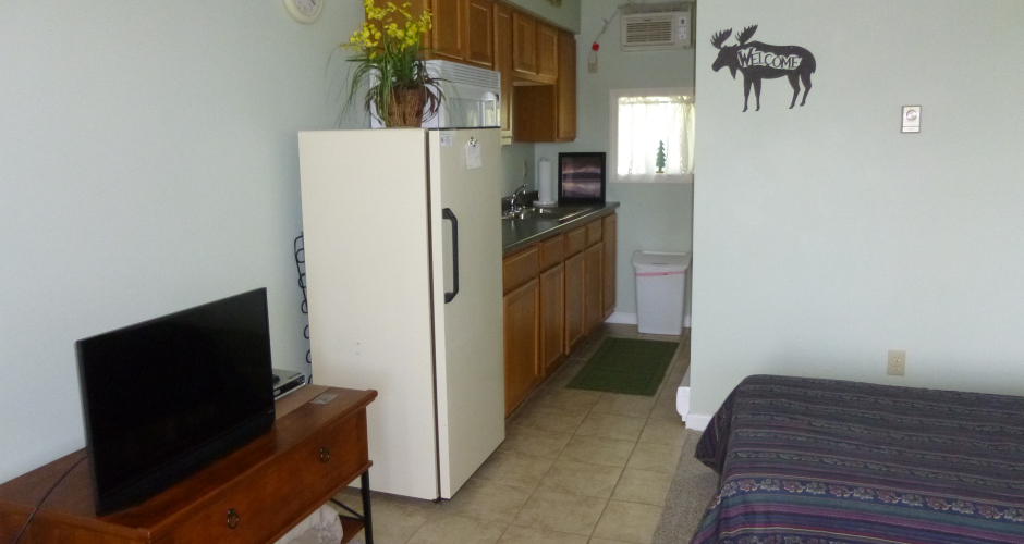 Moosehead Condos Unit 5 Kitchenette