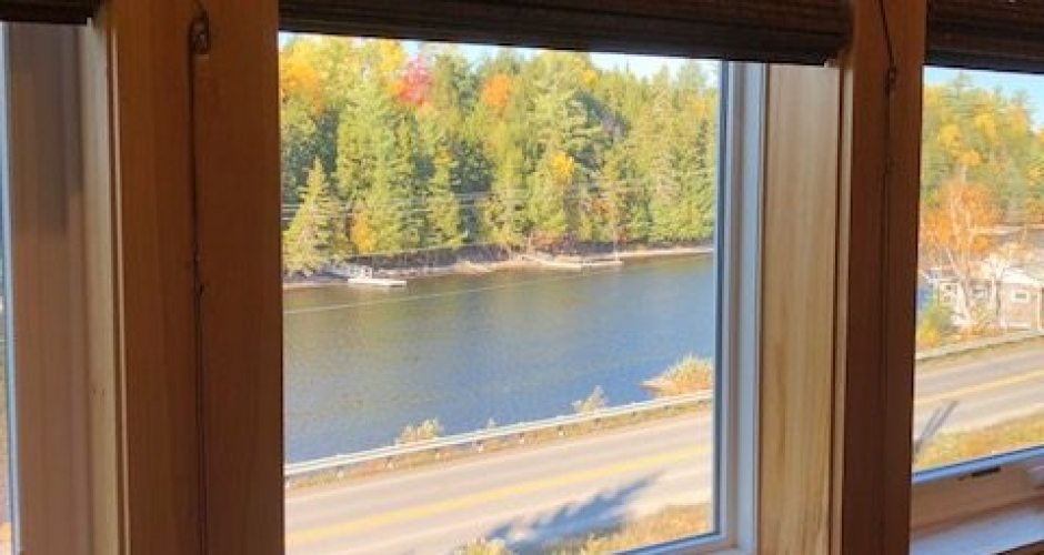 Moose River View from Bedroom 2