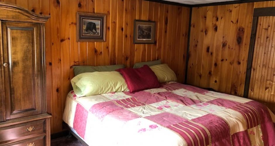 King Bedroom at Lodge at Moosehead