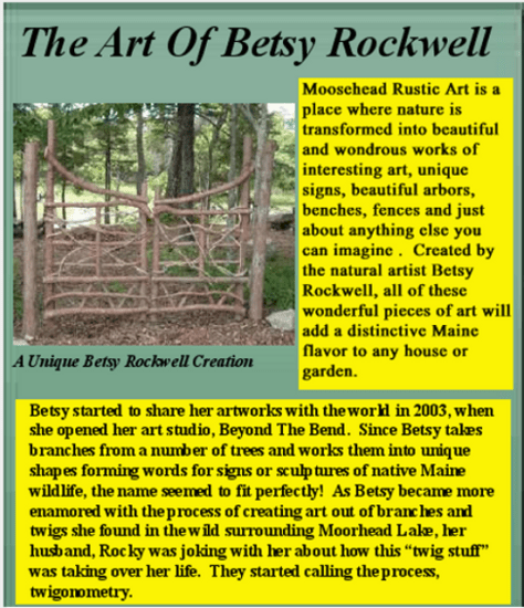 Mooshead Rustic Art best Maine Art and country art