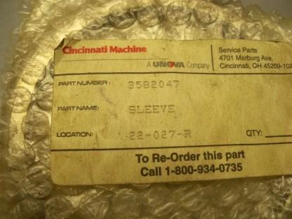 3582047 Sleeve Cincinnati Machine 4 12OD x 3 34 1