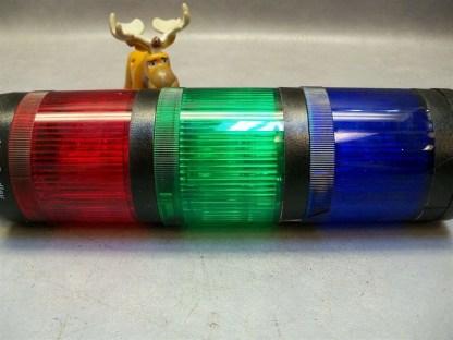 855T-Stack-Light-LED-Allen-Bradley-Blue-Green-Red-w-base-855T-BCB-ser-B-2