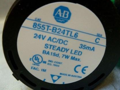 855T-Stack-Light-LED-Allen-Bradley-Blue-Green-Red-w-base-855T-BCB-ser-B-4