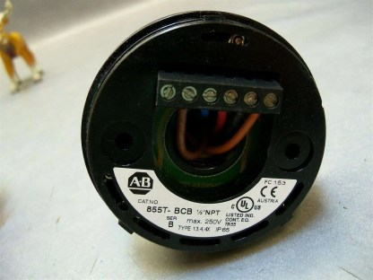 855T-Stack-Light-LED-Allen-Bradley-Blue-Green-Red-w-base-855T-BCB-ser-B-9