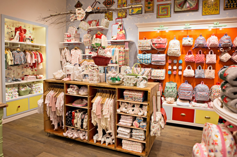 Moosejaw Shopfitting — Cath Kidston, Global