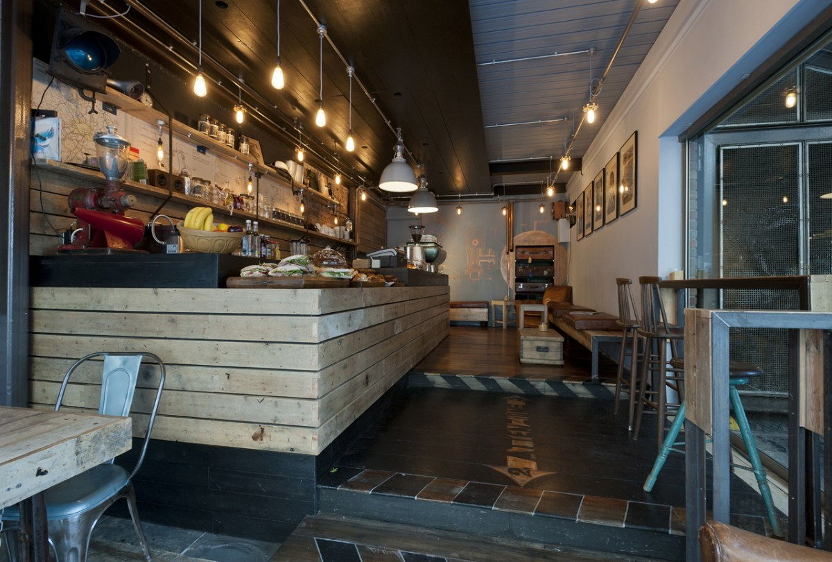 Moosejaw Shopfitting — Mozzino Espresso Bar, Soho