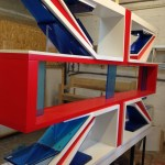 Cambridge Satchel Company - 3D Union Jack
