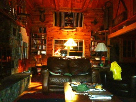 The Cabin. Heaven.