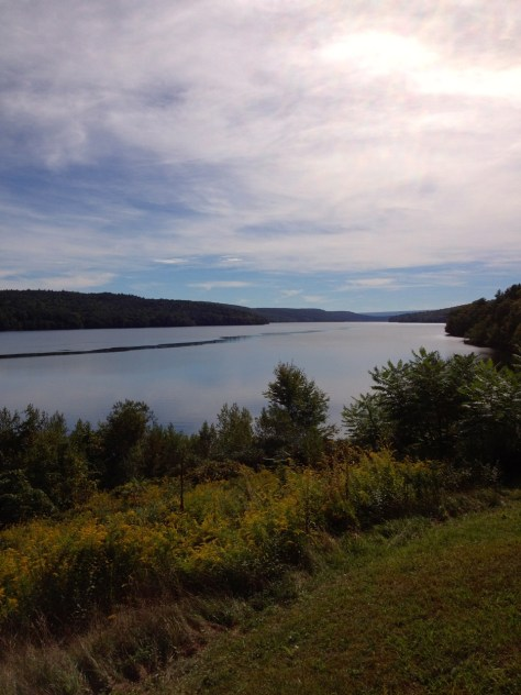 The Roundout Reservoir, New York City's thirst for water buried many Catskill towns.
