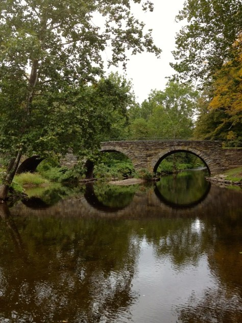 Sullivan County's Stone Arch Bridge, a murder was committed on this bridge.