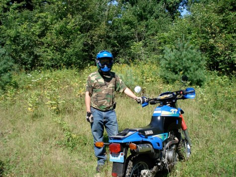 Me with my XT 600 circa 2008
