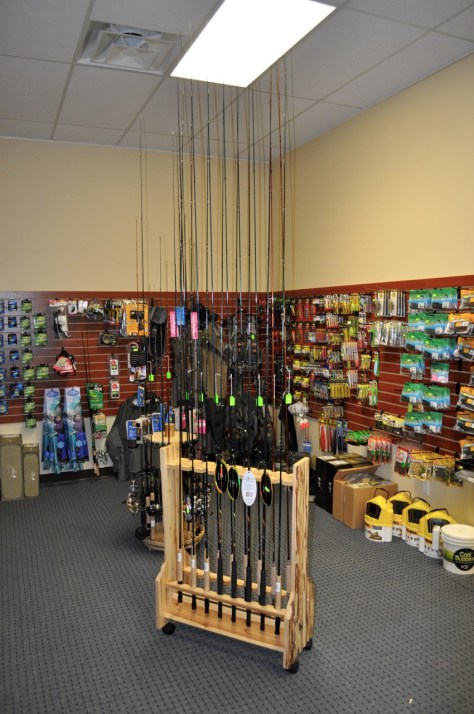 Angling supplies for Bass and Catfish.