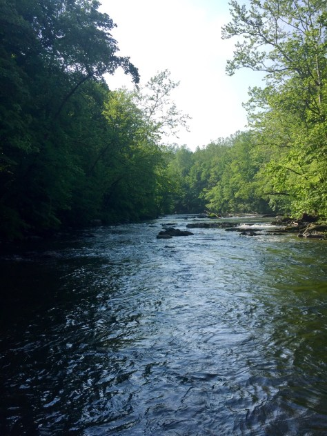 This time of year, the river offers all the seclusion that you need.