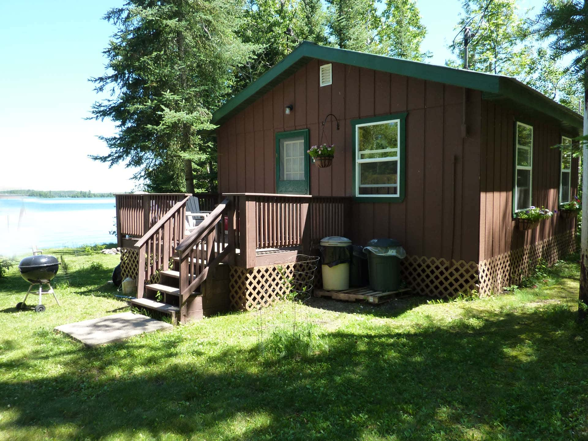 Lake Side Cabins Near The Boundary Waters Canoe Area