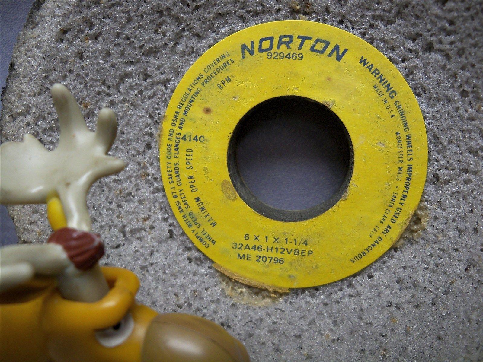 Norton Grinding Wheel Codes