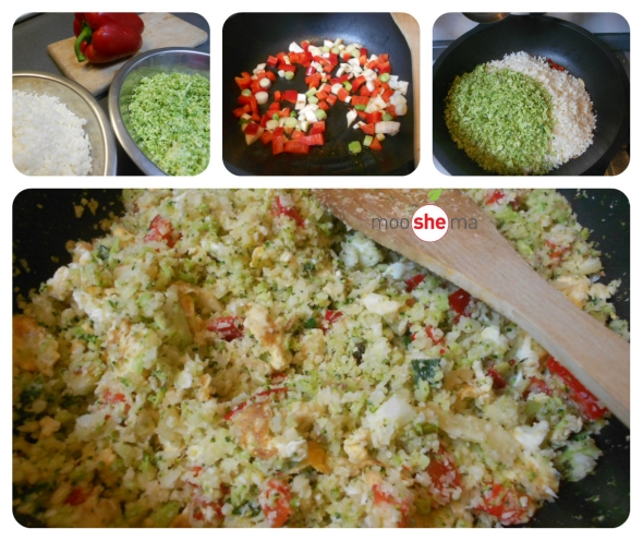 karfiol brokoli rice priprema