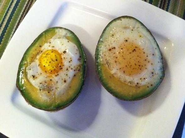 avokado i jaje