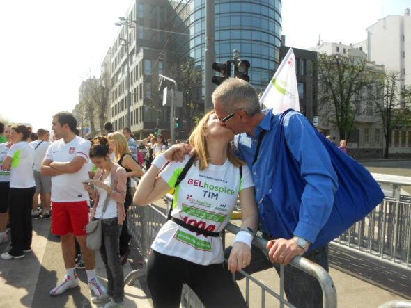 Pred start BG maratona 2013., prvi put u timu BELhospice