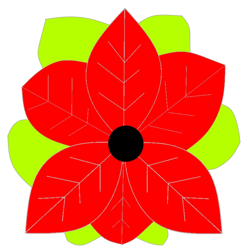 Poinsettia design by Mooshkin