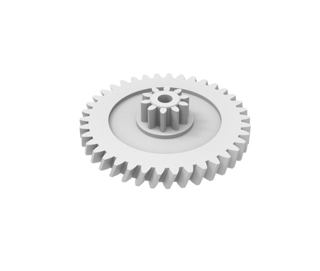 Plastic Gear Module 0 Z Shape Helical