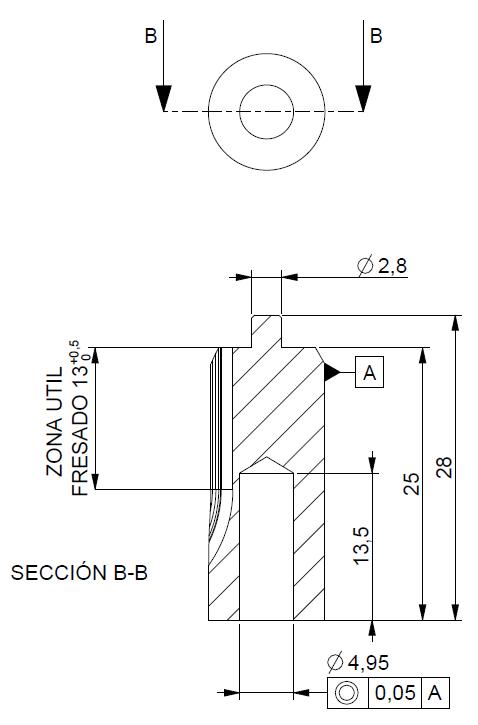 Piñón de metal Módulo 1.000, Dientes 9Z, Forma recto, ref