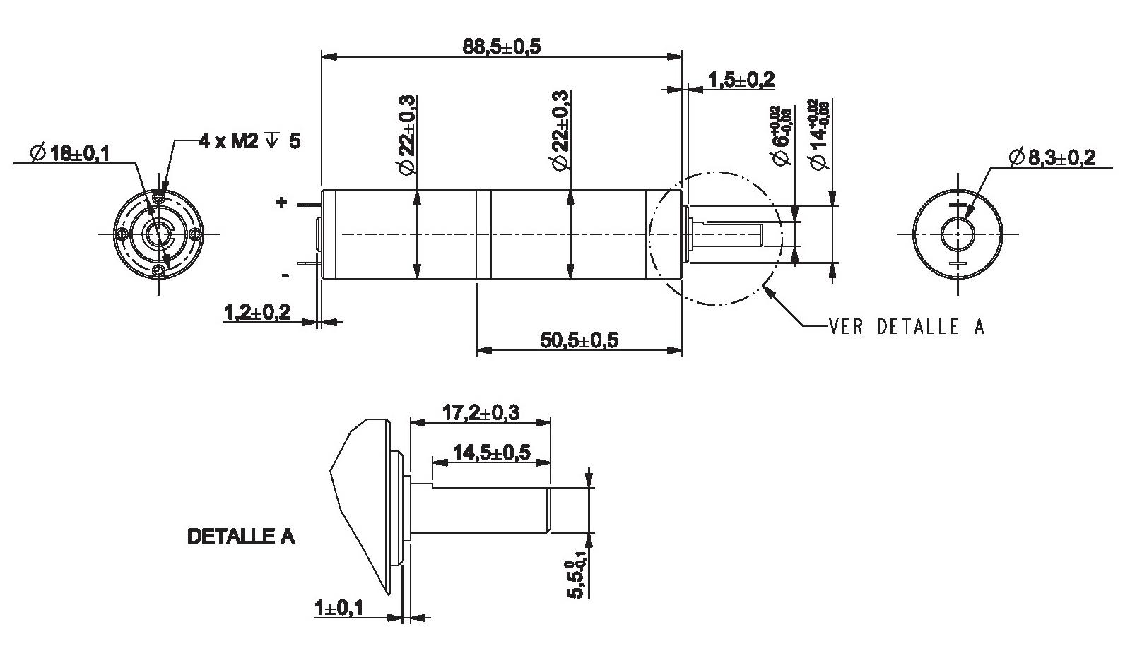 Gear Motor Dc 6v 7rpm Ref 6