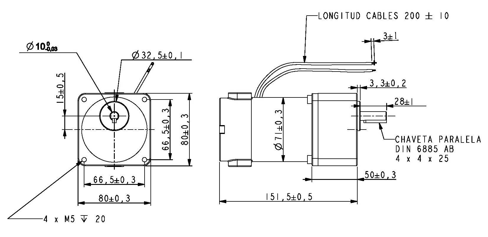 Gear Motor Dc 24v 40rpm Ref 24
