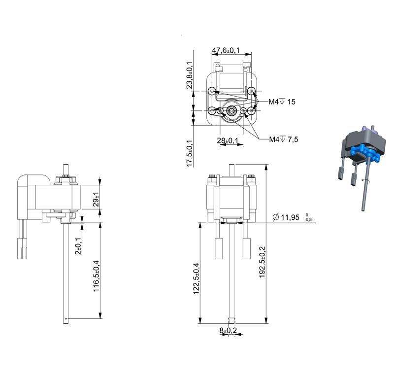 Motor Current AC, Voltage 230.00V, R.P.M. 2900rpm, ref