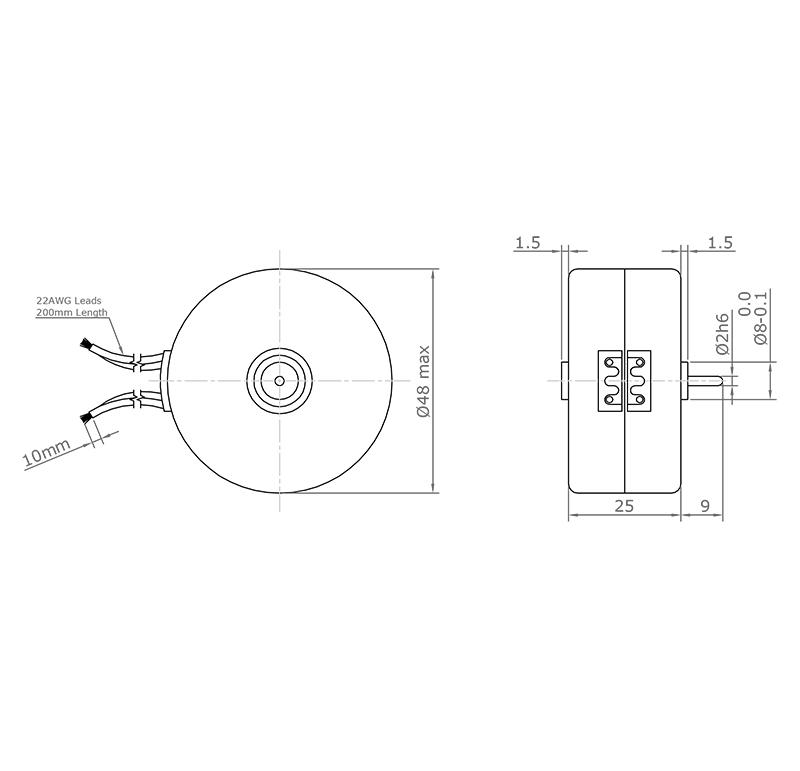 Motor Current AC, Voltage 230.00V, R.P.M. 500.00rpm, ref