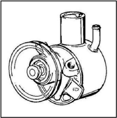 Power steering pump for all 1961 Dodge Polara; all 1961