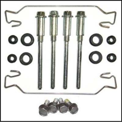 10-piece kit services both Kelsey-Hayes disc brake