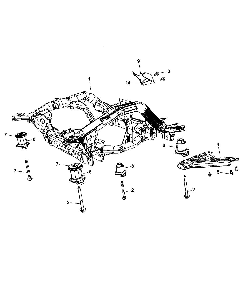 Dodge Durango Cradle