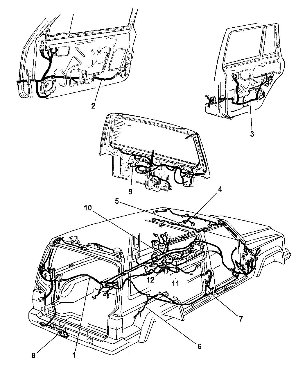 Jeep Cherokee Wiring Body Amp Accessory