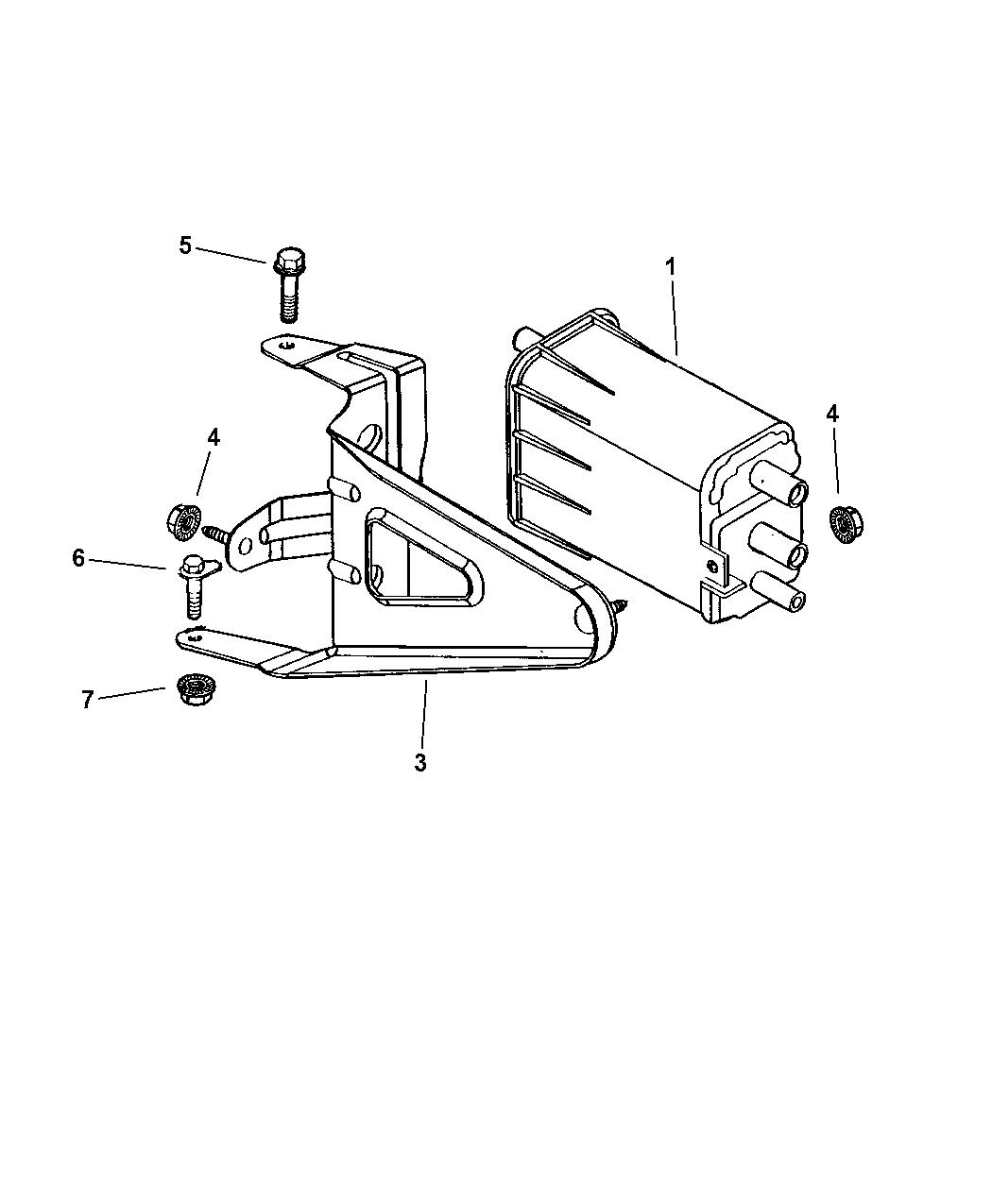 Dodge Durango Vacuum Canister