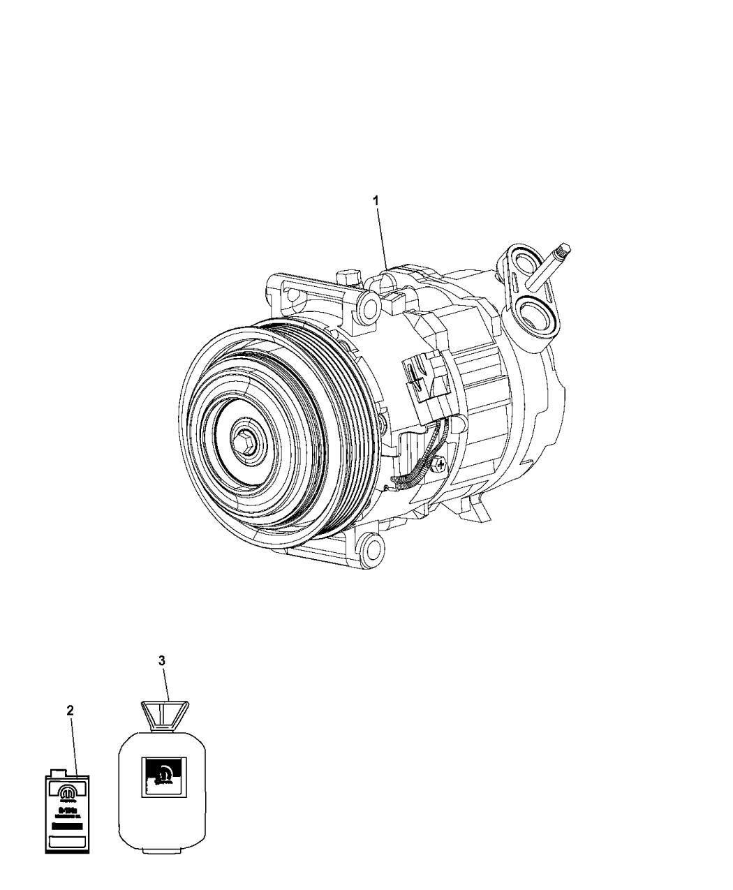 Ram Promaster A C Compressor