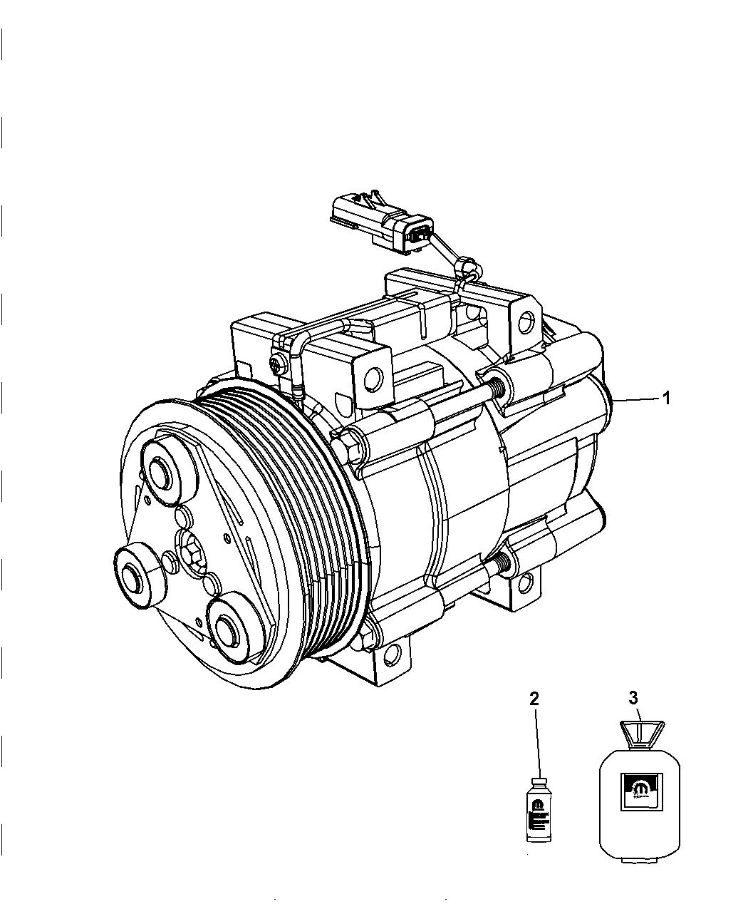 Dodge Ram Pickup A C Compressor