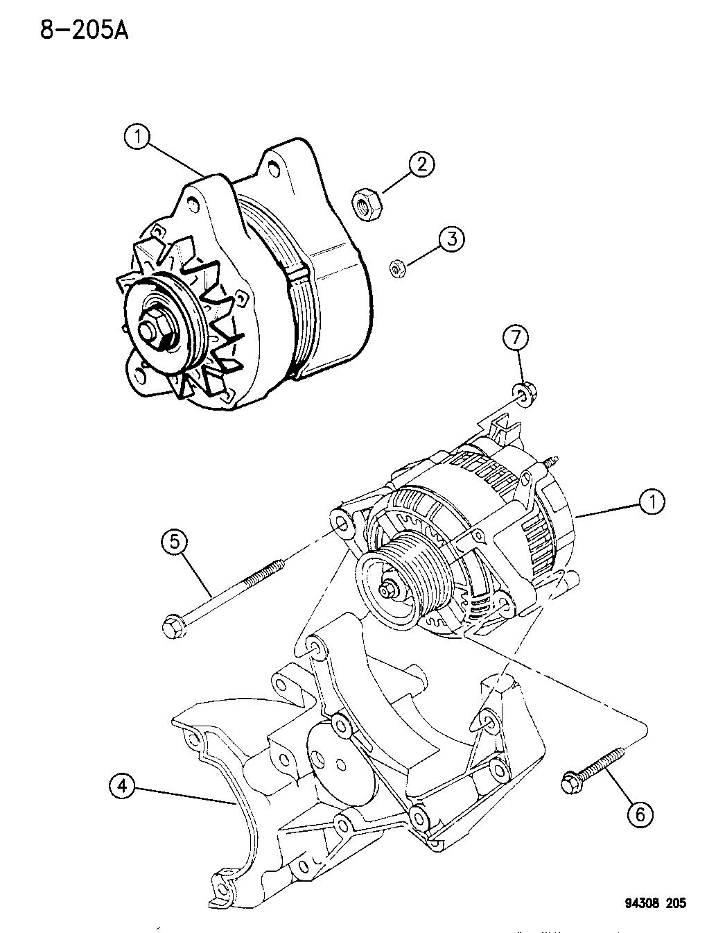 Dodge Dakota Alternator