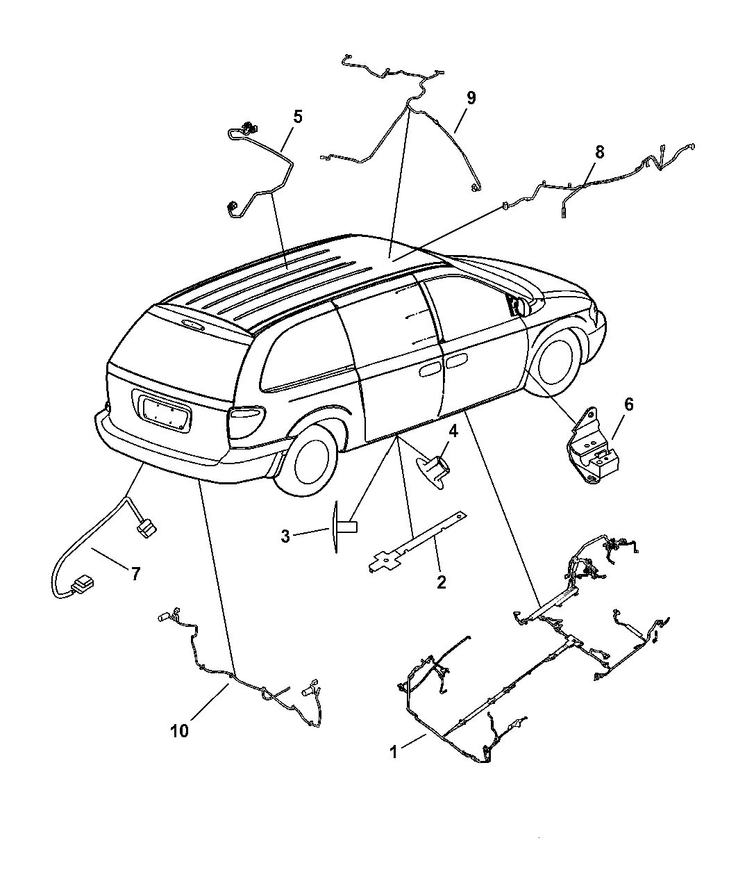Chrysler Town Amp Country Wiring Body