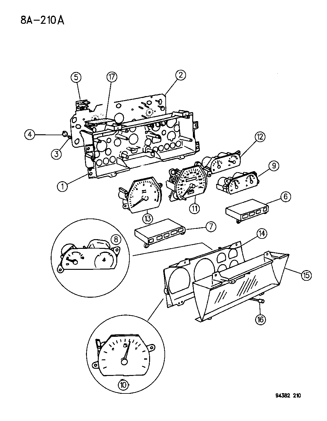 Wiring Diagram For 1995 Dodge Ram 2500 Instrument Cluster