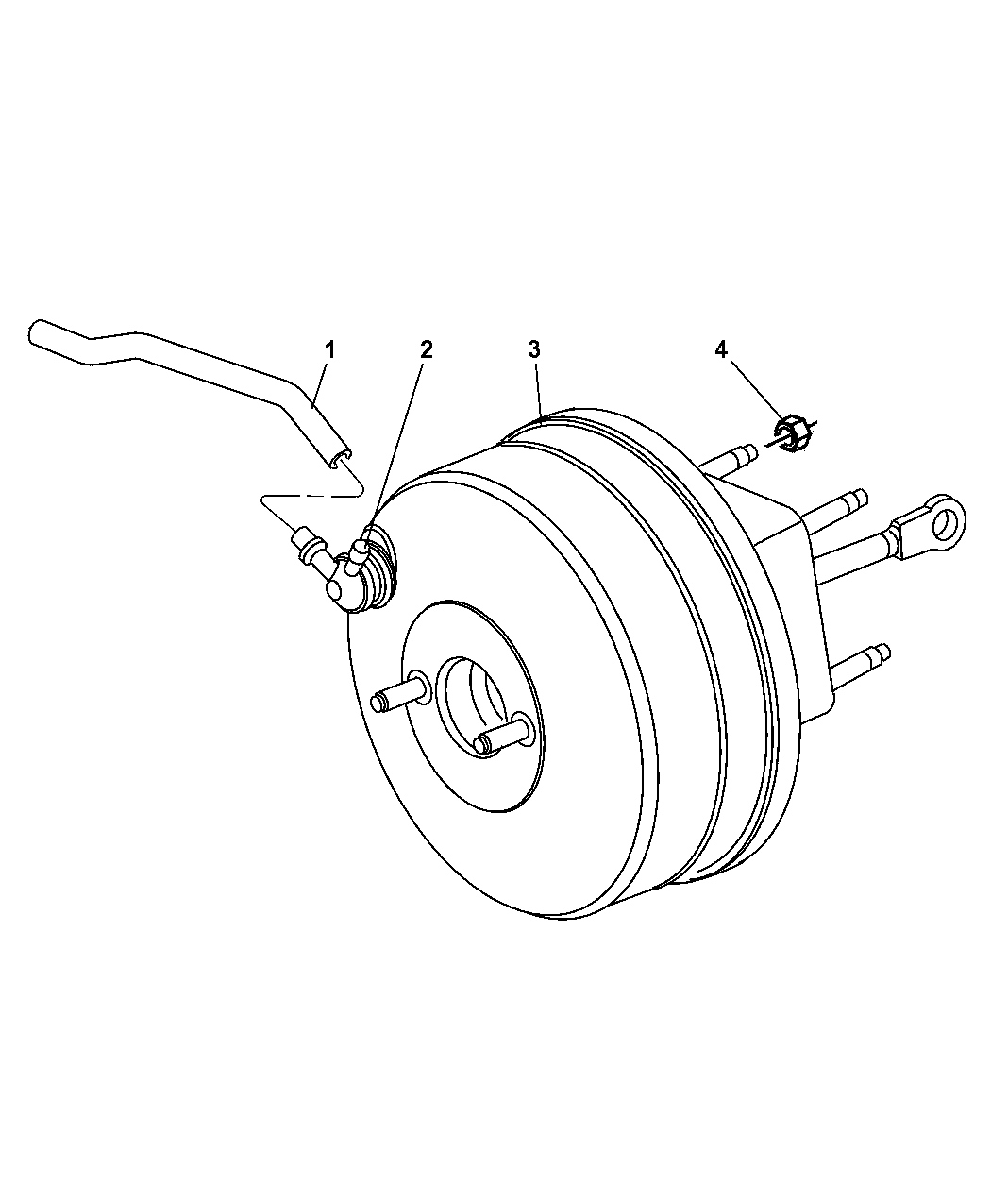 Dodge Dakota Booster Power Brake