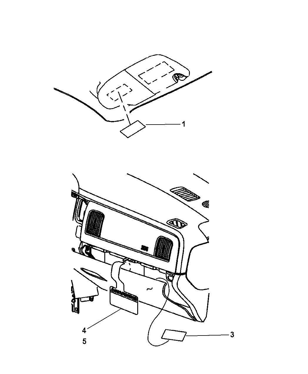 Dodge Ram Instrument Panel Amp Visor