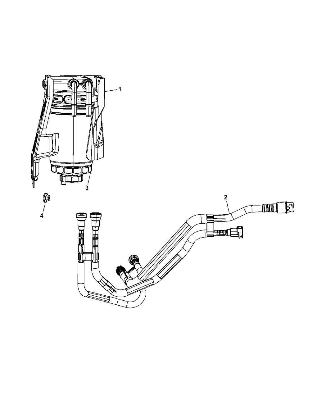 Jeep Compass Fuel Filter