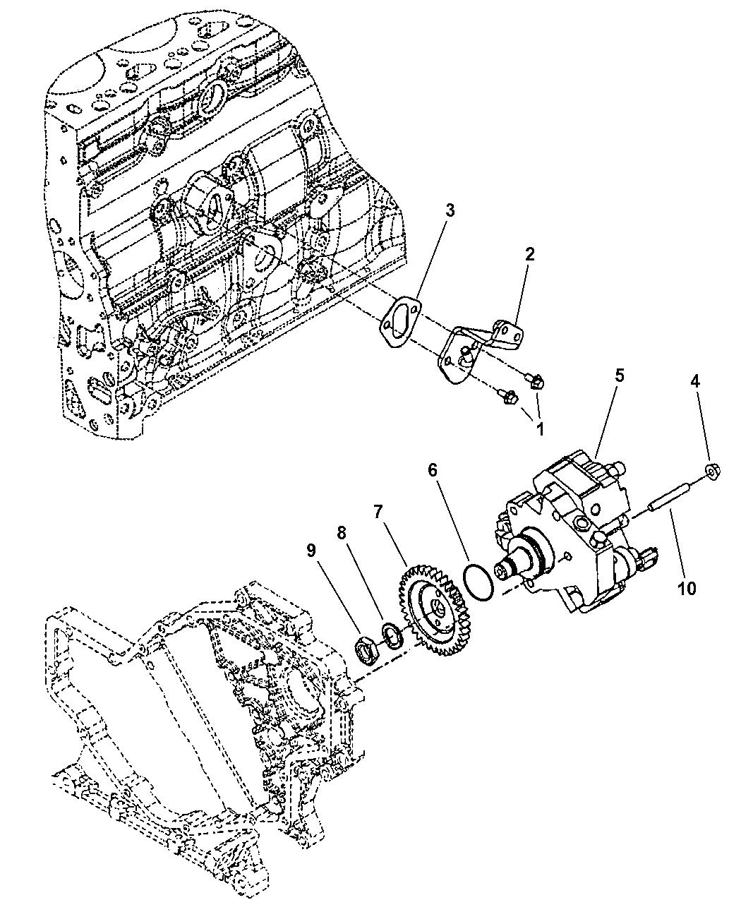 Dodge Ram Fuel Injection Pump
