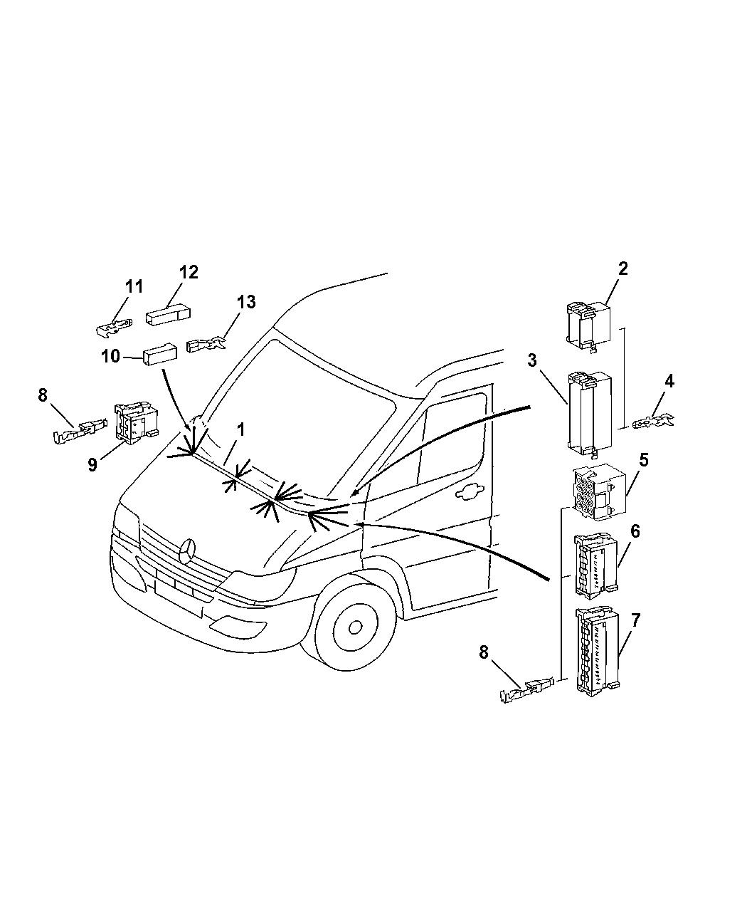 Dodge Sprinter Wiring